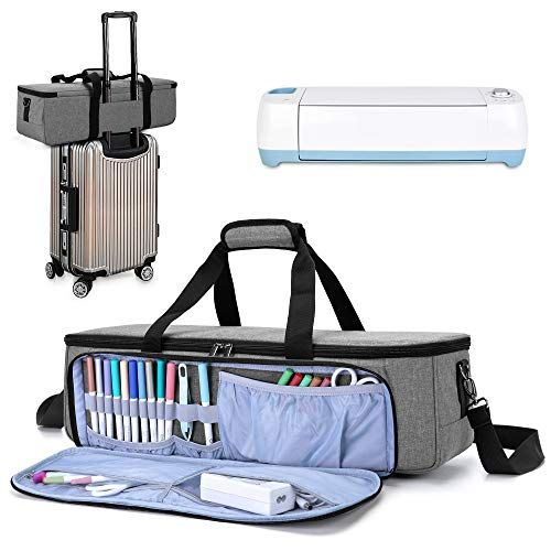 LUXJA Carrying Bag Compatible with Cricut Die-Cutting Machine and Supplies,...