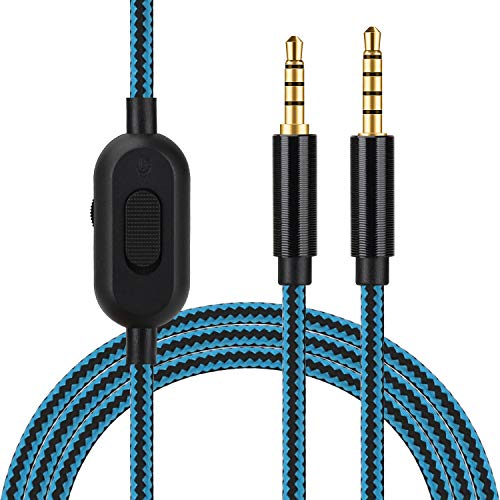 Replacement Audio Cord for Astro A10 A30 A40 A50 Headset with Volume...