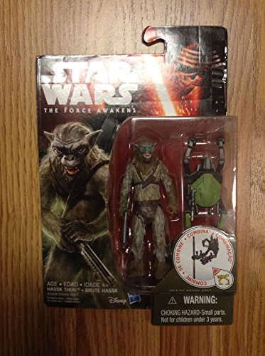Star Wars Ep 7 The Force Awakens HASSK THUG Build Weapon 3.75 Figure