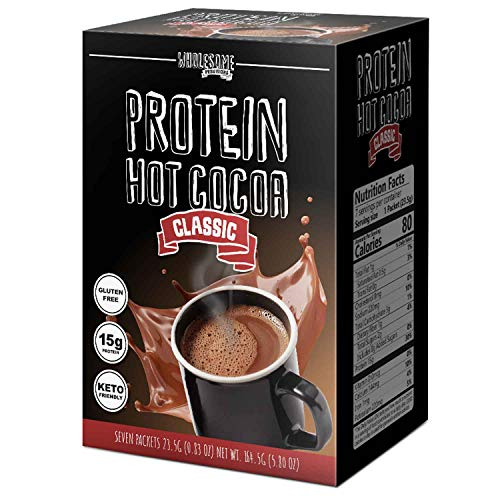 Protein Hot Chocolate, Keto Hot Chocolate Mix, Low Carb Hot Cocoa, 15g...