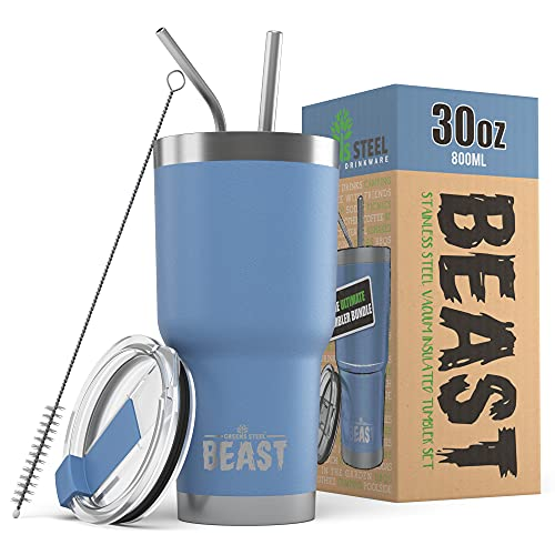 Greens Steel Beast Tumbler Stainless Steel Vacuum Insulated Coffee Ice Cup...