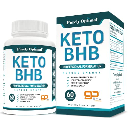 Premium Keto Diet Pills - Utilize Fat for Energy with Ketosis - Boost...