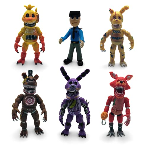 Unique New Inspired by Five Nights at Freddy's Action Figures Toys (FNAF)...