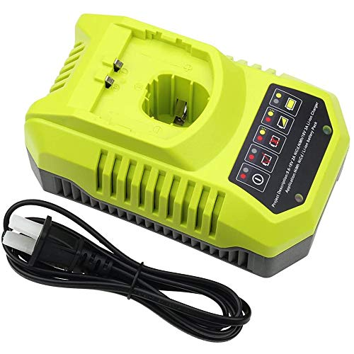 Forrat Replacement for Ryobi P117 Dual Chemistry 9.6V-18V Charger Li-ion...
