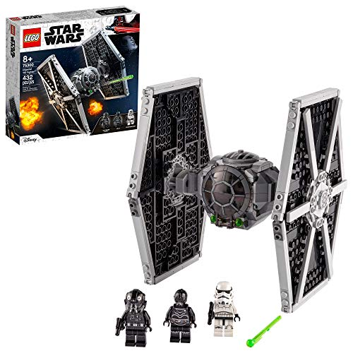 LEGO Star Wars Imperial TIE Fighter 75300 Building Kit; Awesome...