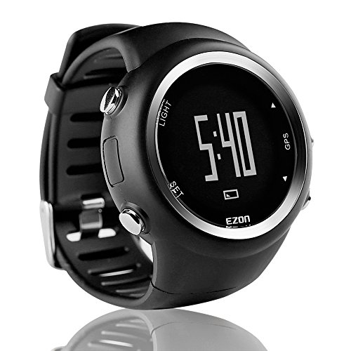 EZON GPS Running Watch with Speed Distance Pace Alarm and Calorie Counter...