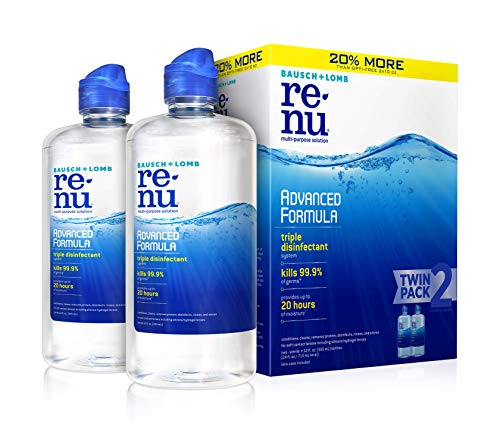 Contact Lens Solution by Renu, Multi-Purpose Disinfectant, Advanced Formula...