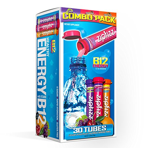 Zipfizz Healthy Energy Drink Mix, Hydration with B12 and Multi Vitamins,...