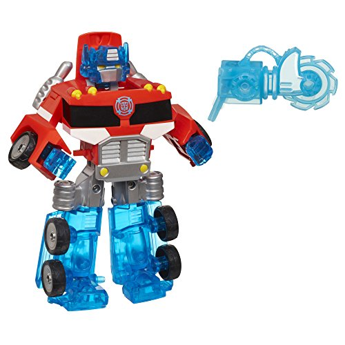 Playskool Heroes Transformers Rescue Bots Energize Optimus Prime Action...