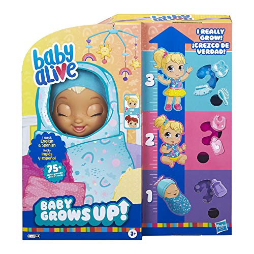 Baby Alive Baby Grows Up (Happy) - Happy Hope or Merry Meadow, Growing and...