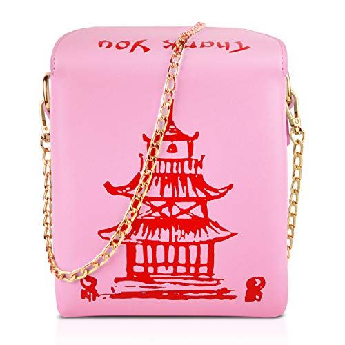 Fashion Crossbody Bag, Ustyle Chinese Takeout Box Style Clutch Bag...