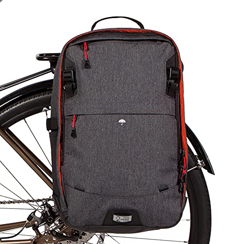 Two Wheel Gear - Pannier Backpack Convertible LITE (22 Litre) - 2 in 1...