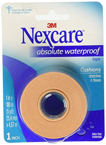 3M - Nexcare Absolute 66775 First Aid Flexible Waterproof Tape 1' x 180'