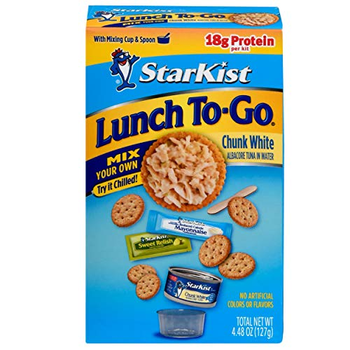 StarKist Lunch To-Go Chunk White Mix Your Own Tuna Salad (Can) - (12-Pack)