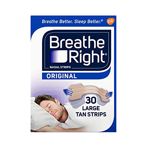 Breathe Right Original Nose Strips to Reduce Snoring and Relieve Nose...