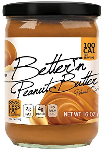 Pack of 3, Better'n Peanut Butter, Peanut Spread Original Low Fat and...