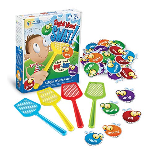 Learning Resources Sight Word Swat a Sight Word Game, Home School, Visual,...
