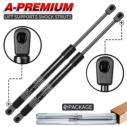 A-Premium Hood Lift Supports Shock Struts Replacement for Dodge Ram 1500...