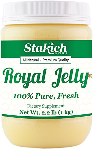 Stakich Fresh Royal Jelly - Pure, All Natural - No...