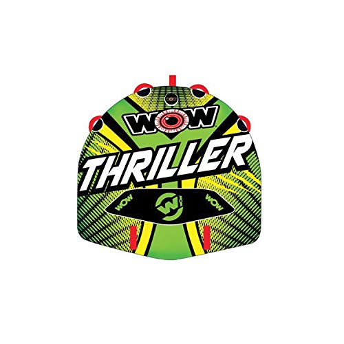 WOW World of Watersports Big Thriller 1 or 2 Person Inflatable Towable Deck...