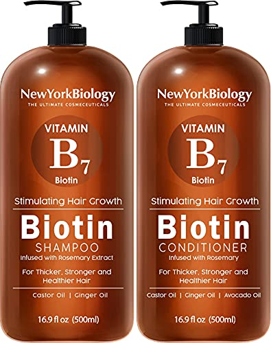 Biotin Shampoo and Conditioner Set for Hair Growth and Thinning Hair –...