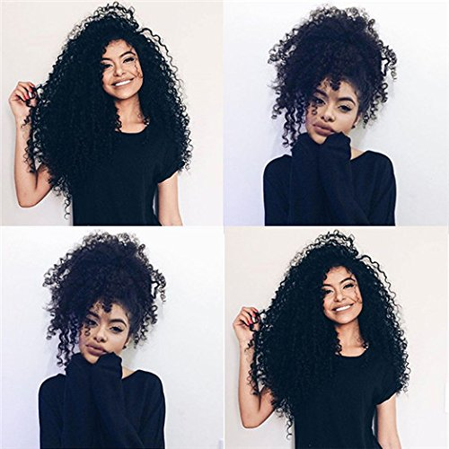 Mongolian Kinky Curly Clip In Human Hair Extensions Virgin Hair Afro Kinky...