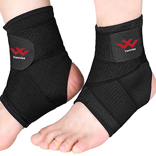 Ankle Brace, 2PCS Breathable & Strong Ankle Brace for Sprained Ankle,...