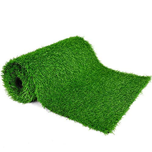 COYMOS Faux Grass Table Runner for Table Decoration Grass Rug Spring Summer...