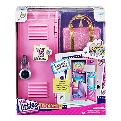 Real Littles - Collectible Micro Locker with 15 Stationary Surprises...