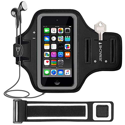 iPod Touch 7th/6th/5th Generation Armband. JEMACHE Gym Running Exercises...