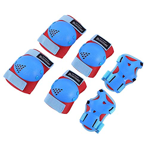 Kids/Youth Knee Pad Elbow Pads for Roller Skates Cycling BMX Bike...