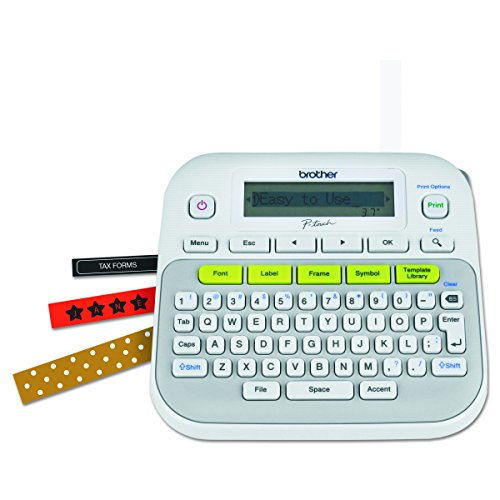 Brother P-touch, PTD210, Easy-to-Use Label Maker, One-Touch Keys, Multiple...