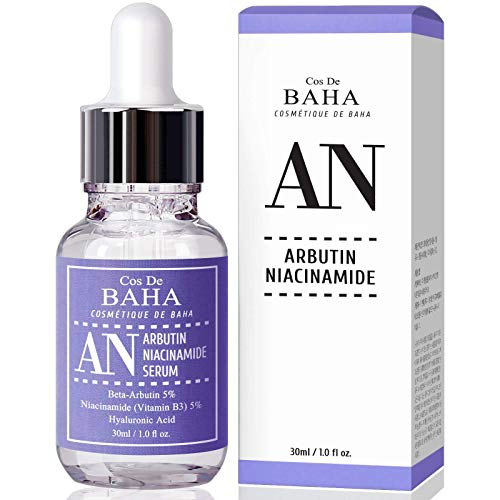 Arbutin 5% Serum for Face with Niacinamide 5% - Treating Pigmentations,...