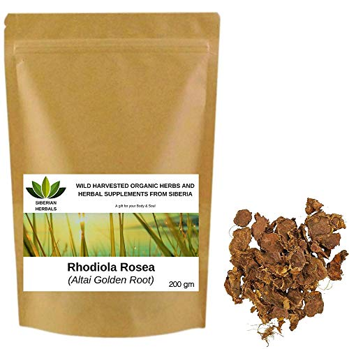 Wild Harvested Organic Rhodiola Rosea Root, Altai Golden Root from Altai...