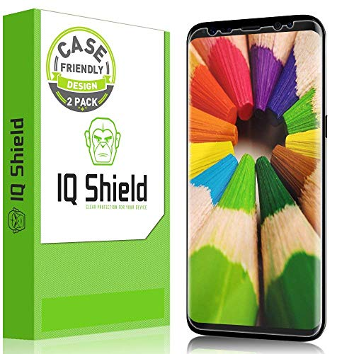 IQ Shield Screen Protector Compatible with Galaxy S8 5.8 inch...