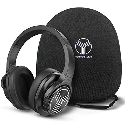 TREBLAB Z2 | Over Ear Workout Headphones with Microphone | Bluetooth 5.0,...