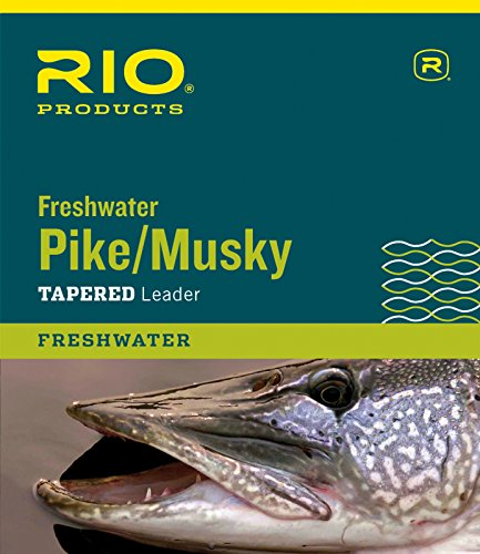 RIO Products Leaders Pike/Musky II 7.5' 20Lb Class 20Lb Knottable Wire,...