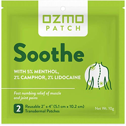 Ozmo Patch Soothe Patches Workout Recovery Relief for Stiff Neck Lower...