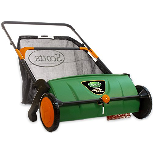 Scotts Outdoor Power Tools LSW70026S 26-Inch Push Lawn Sweeper, with 3.6...