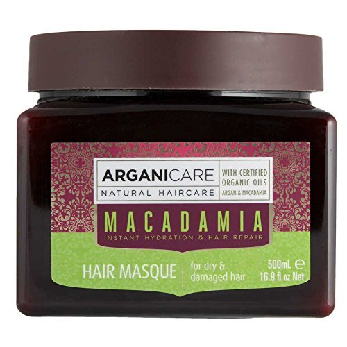 Arganicare Hydrating Hair Masque for Dry and Damaged Hair with Organic...