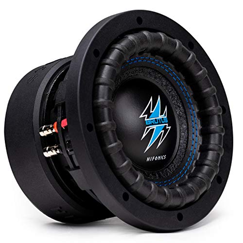 Hifonics BRW6D4 600 Watts 6.5 Inch Brutus Car Audio Subwoofer with Heavy...
