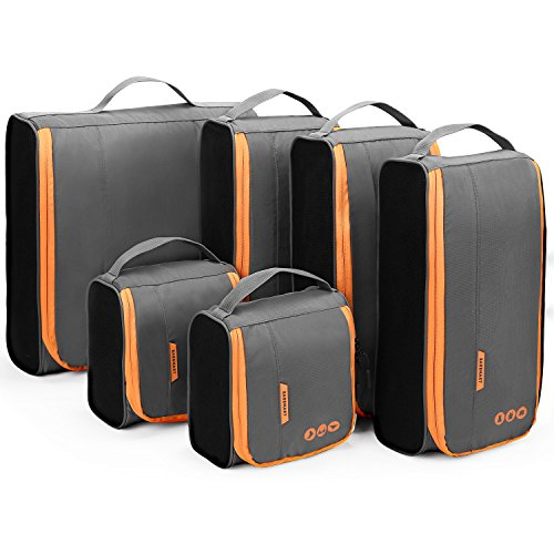 Packing Cubes, BAGSMART Packing Cubes for Suitcases, Lightweight Travel...