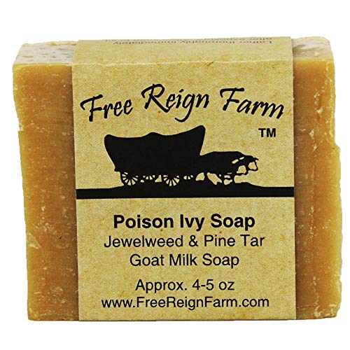 Poison Ivy Soap Infused with Jewelweed Extract, Made with All-Natural...