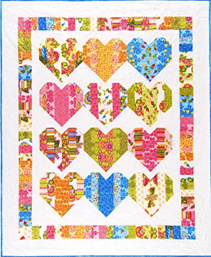 Heartstrings Quilt Pattern Designed by Gail Yakos for Black Mountain...