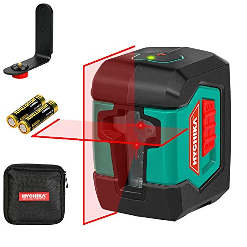 Laser Level, HYCHIKA 50 Feet Cross Line Laser with Dual Modules, Switchable...