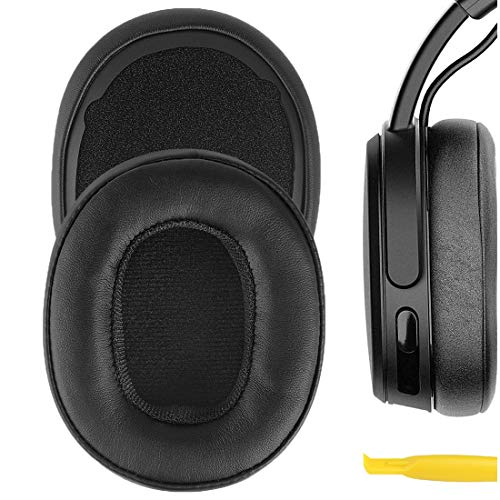 Geekria QuickFit Protein Leather Replacement Ear Pads for Skullcandy...