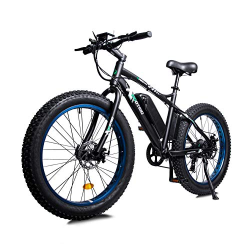ECOTRIC Powerful Electric Bicycle 26' X 4' Fat Tire Bike 500W 36V 12AH...