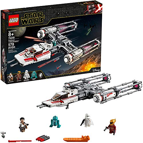 LEGO Star Wars: The Rise of Skywalker Resistance Y-Wing Starfighter 75249...