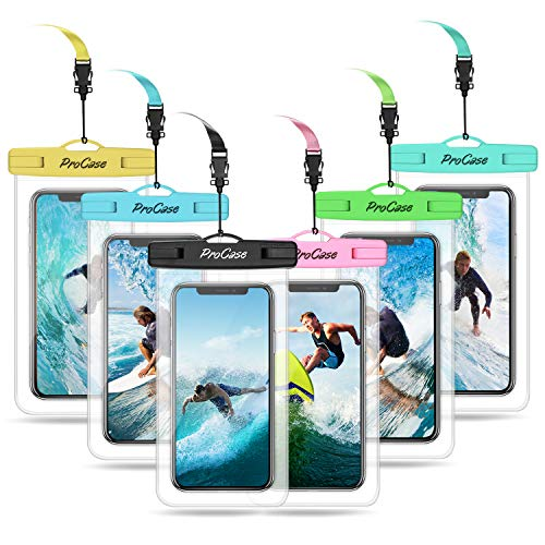 ProCase Universal Waterproof Pouch Cellphone Dry Bag Underwater Case for...