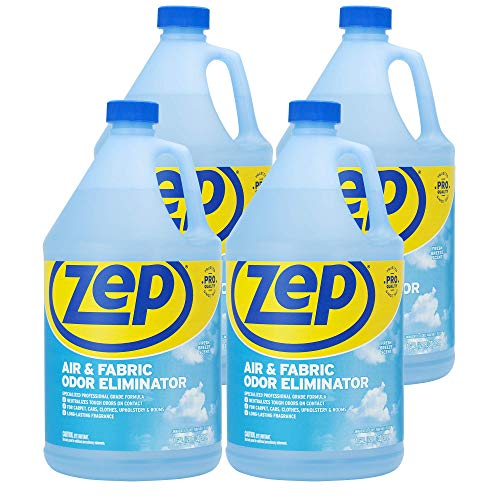Zep Air and Fabric Odor Eliminator 128 Ounce ZUAIR128 (Case of 4) Refresh...